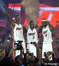 NBA: Miami Heat- Welcome Ceremony