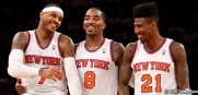 Knicks_Team_CarmeloAnthony_JRSmith_ImanShumpert_2013
